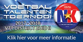 Banner Talententoernooi 2017 - 2018